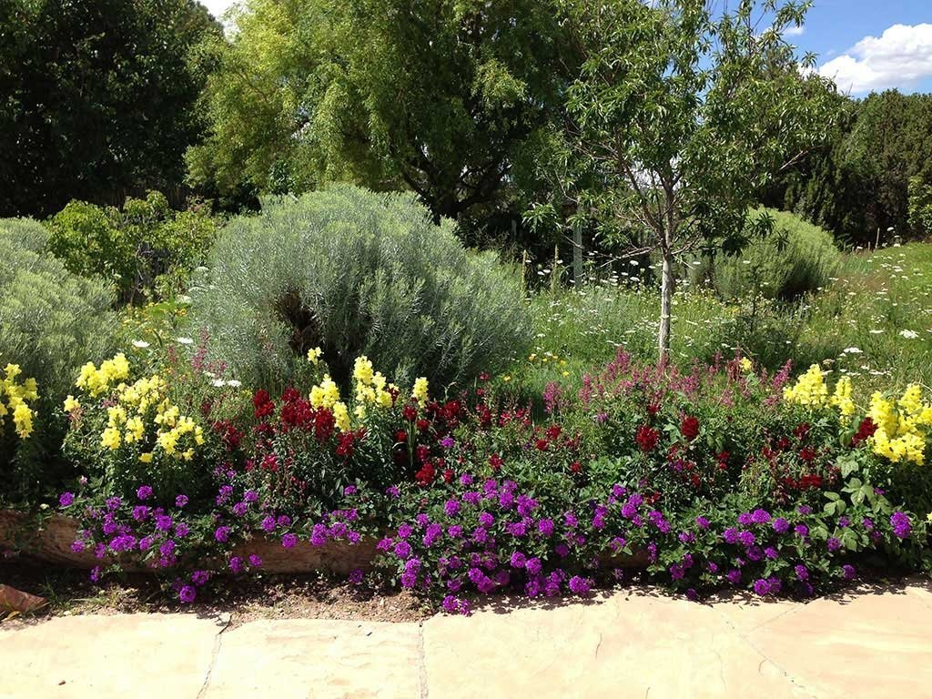 Perennial Gardens In Santa Fe Mccumber Fine Gardens