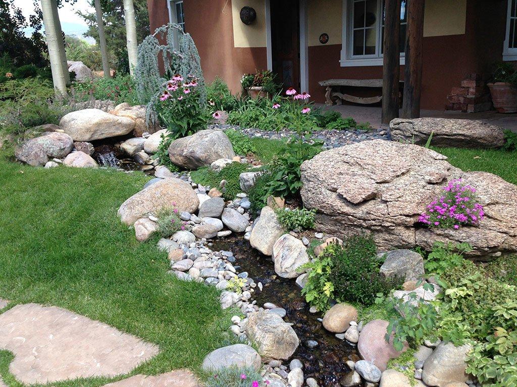 Building Rock Gardens In Santa Fe Mccumber Fine Gardens